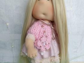 Игровая кукла ручной работы