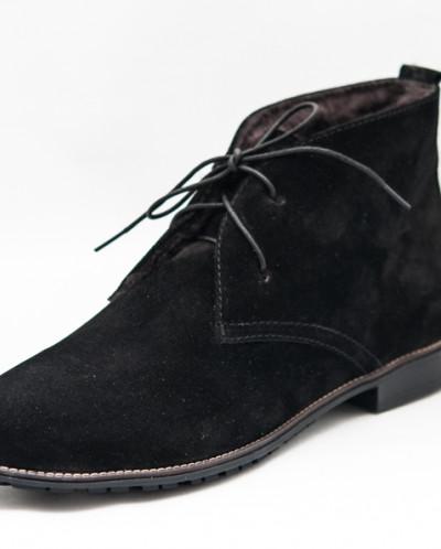 женские осенние ботинки на байке