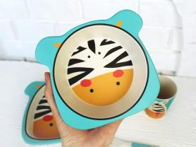 Детская посуда избамбука - экологичная и красивая