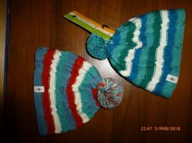шапка вязаная SmartWool, 100%шерсть, новая
