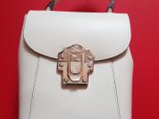 Новый кожаный рюкзак сумка Италия