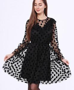 88375 Платье (Leya Khaim)Черный