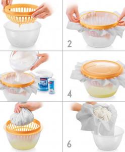 Набор для приготовления кремового сыра DELLA CASA
