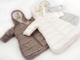 Зимний мешок на овчине в коляску