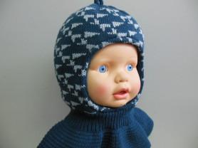 Шапка-шлем для мальчика.
