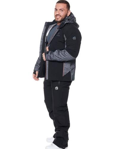 Мужская куртка, сезон 2019-2020, арт. A-8866, Черный
