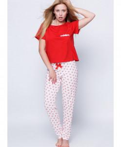 Женская хлопковая пижама, Sensis,Польша