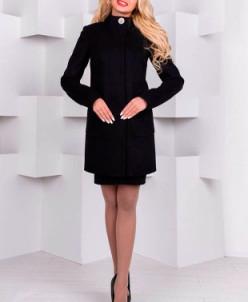 Пальто Мелини 1692 (черный) Modus