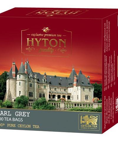 Чай Хайтон черный цейлонский с бергамотом EARL GRAY 100 пак.