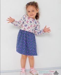 Платье детское Эсмиральда (интерлок)