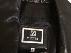 Новый кожаный плащ Zetta (Италия)