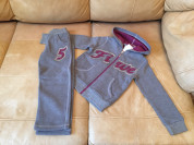 Новый спортивный костюм  утепленный для девочки