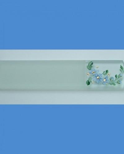 стеклянная пилочка для пяток №1, 160х8мм