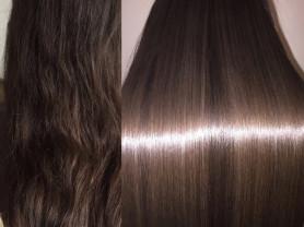 Кератиновое выпрямление, ботекс волос