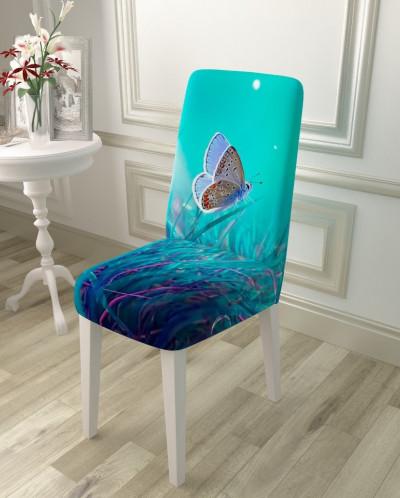 Чехол для стула Бабочка в ночи