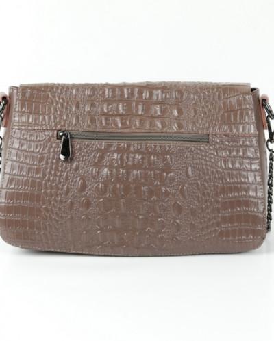 Женская кожаная сумка 963 Хаки