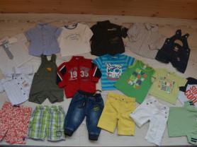 Симпатичные вещи для мальчика на лето р. 68-74-80-