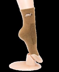 Носки из верблюжьей шерсти- тёмные.