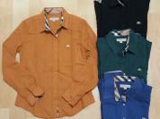 Женские рубашки Burberry, 3 цвета. Турция