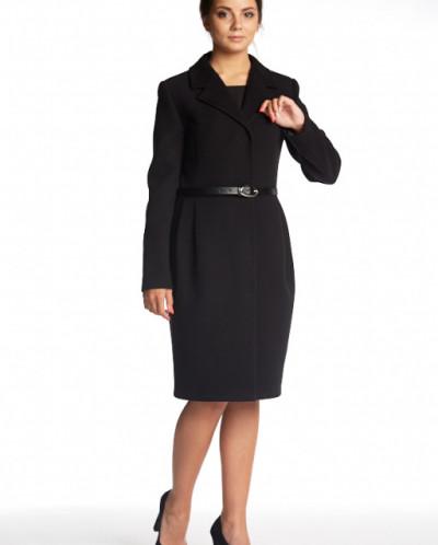 Пальто 20290 (черный )