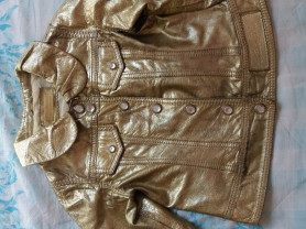 куртка кожаная Pinko Pallino