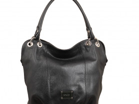 Новая вместительная сумка кожа Gaude Италия