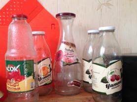 и бутылки 1 л и 0,7