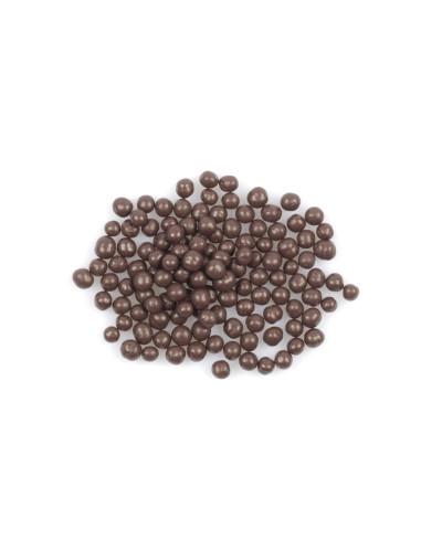 Темный шоколад хрустящий внутри в форме жемчужин, 200 г
