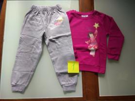 Пижама / теплый костюмчик для девочки  96 -104
