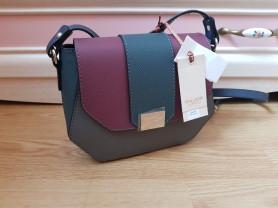 Новая сумка из сафьяновой кожи Италия оригинал