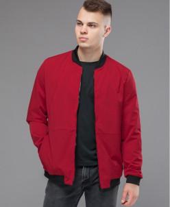 Куртка-бомбер Kiro Tokao №3828 красный