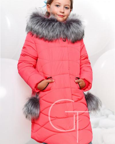 Детская зимняя куртка DT-8254