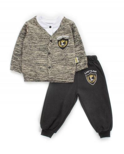 Комплект для мальчика: штанишки и джемпер-обманка