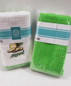 """Махровые кухонные полотенца """"Nilteks"""" лиловый 40X60 СМ 1/2"""