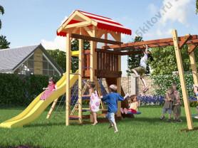 Детская площадка Савушка -10