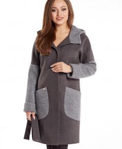 Пальто 20507 (серый)