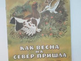 Соколов-Микитов Как весна на север пришла