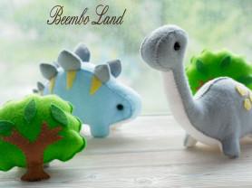 Игрушки ручной работы из фетра в подарок или детю