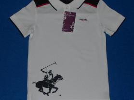 Новая футболка-поло Stilnyachka, 122-128 см