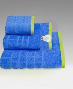 """Махровое полотенце хлопок 100% """"Энерджи""""- синий"""