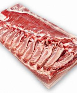 Грудинка из свинины 2,6 кг (4 лотка)