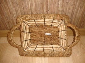 Новая плетеная корзина для творчества.