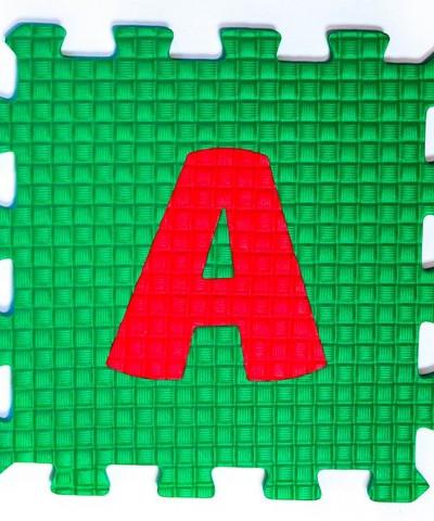 Коврик пазл мягкий пол Алфавит