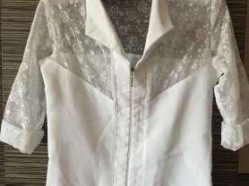 школьные блузки белые