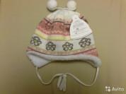 Новая теплая шапка р. 44 Польша