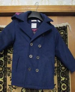 Новое Шерстяное кашемировое пальто французский 108
