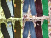 Пакет брюк новые и бу р.110 В пакете