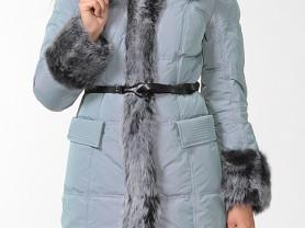 Пальто новое зимнее с овчиной, 46 р-р