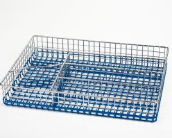 5137-S STAHLBERG Лоток для столовых приборов 30х22х5см голуб