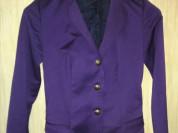 Пиджак фиолетовый р.42 одет пару раз